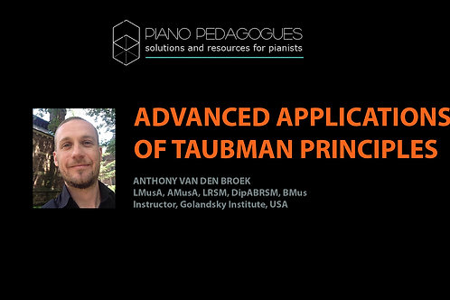 Advanced Examples Using Taubman Approach
