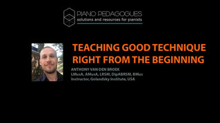 Video: Teaching Good Technique Right From the Beginning