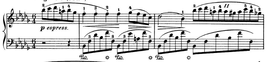 Chopin Nocturne Op 9 No 1: 11 against 6 polyrhythm