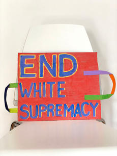 End White Supremacy Sign