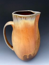 Tall Pitcher fired in the Anagama