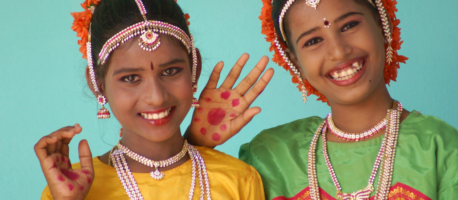DISCOVERING THE VIBRANCY OF INDIA'S TAMIL NADU REGION & THE REBUILDING OF A SCHOOL WITH LOVE