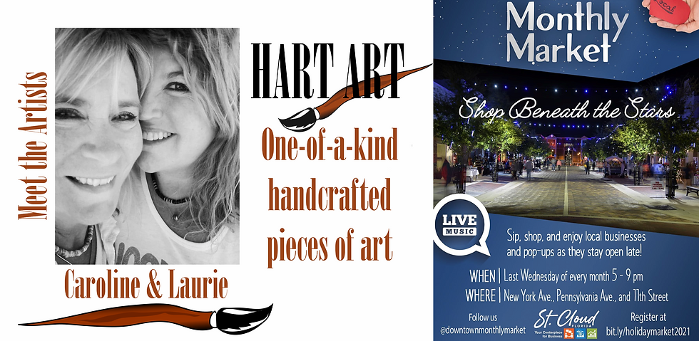 Hart Art Saint Cloud Monthly Market