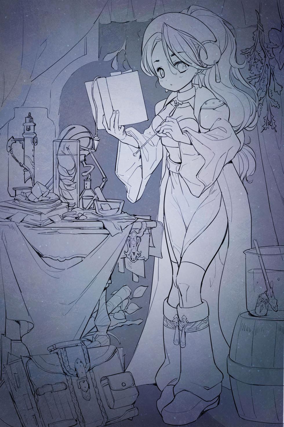 マリーのアトリエ。ファンアート