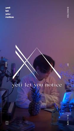 yeti let you notice [hashtag (YouTube Ed