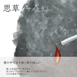 サメとうふ [思草]