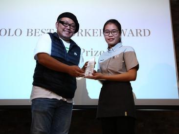 YOLO BEST WORKER AWARD受賞