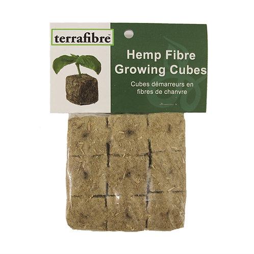 """1.5"""" Hemp Fibre Growing Cubes"""