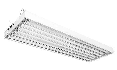 T5 HO Fluorescent Fixture (4ft - 6 bulb)