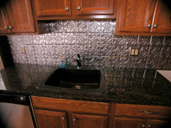 Granite Counter, Granite Sink, Backsplas