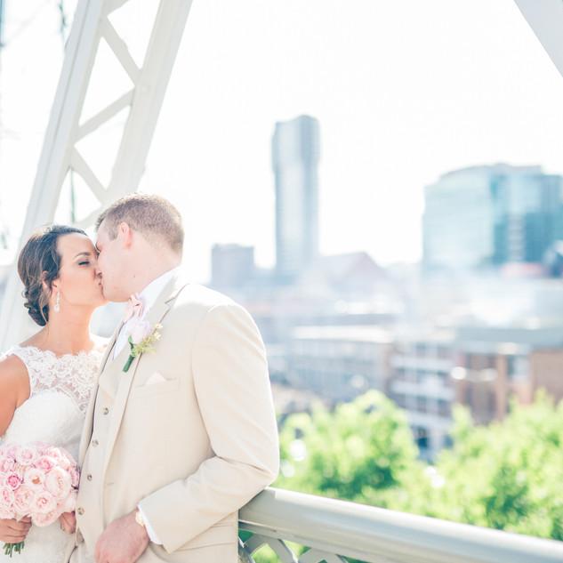 Downtown Nashville Wedding