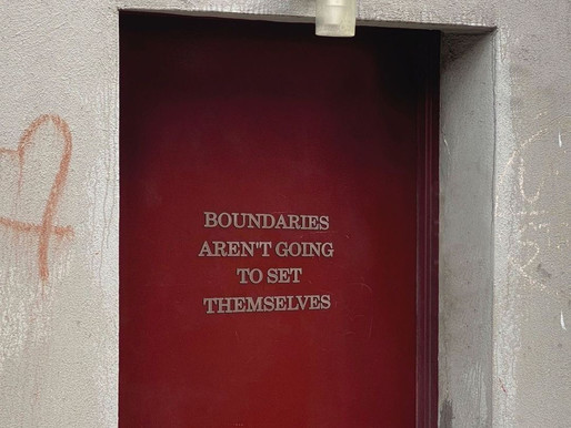 Those Boundaries Aren't Going to Set Themselves