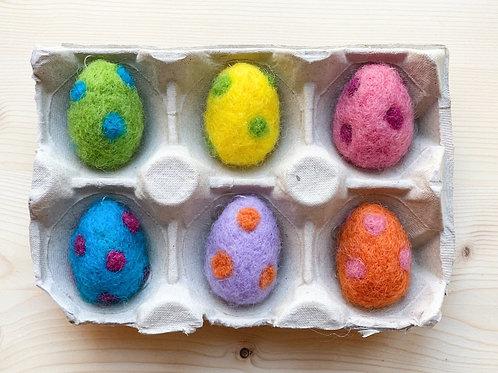 "Påskpynt ""Små ägg"""