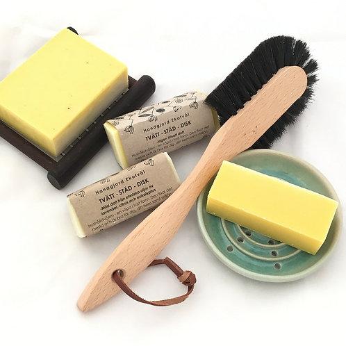 Ekotvål Tvätt-Städ-Disk - mild doft