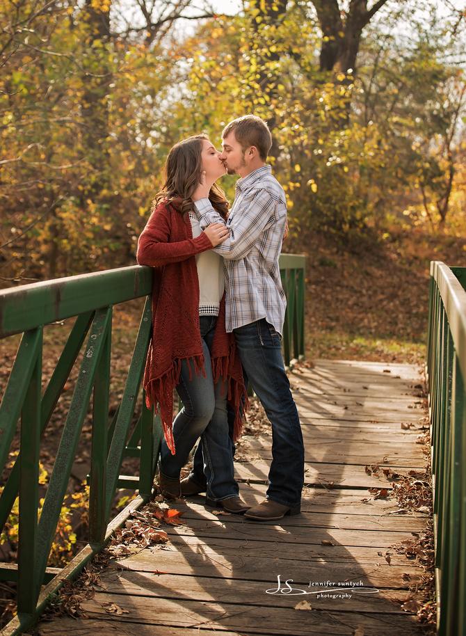 Marissa & Kelby~ Central Nebraska Engagement