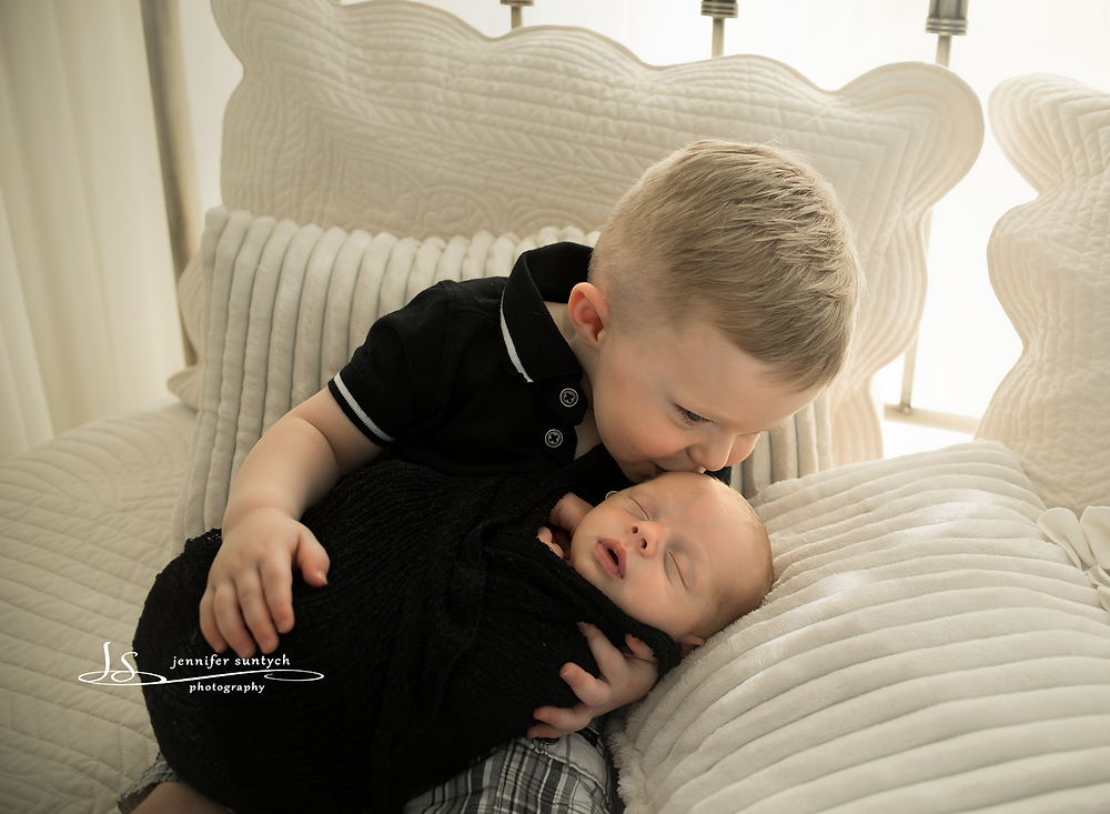 I think he's going to make a great big brother!