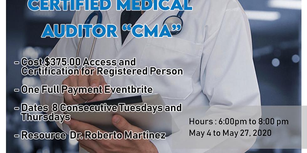 Certified Medical Auditor