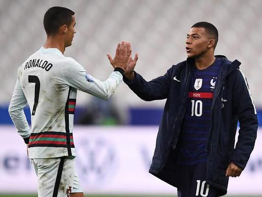 Ronaldo e Mbappé proporcionaram momentos bonitos