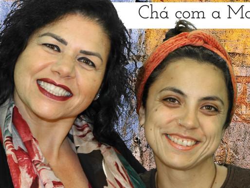 """Ariana Bonifácio foi tomar """"chá com a Maria"""""""
