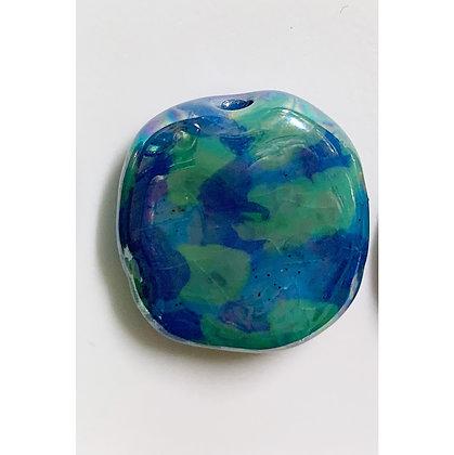 blue and green blotch pita pat
