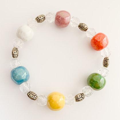 colorful summer fun bracelet