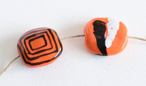 orange with black pita pat - assorted