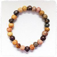 shades of brown stackable bracelet