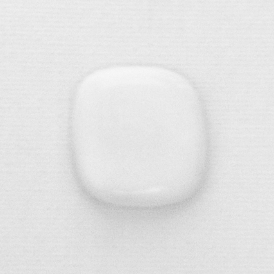 white glossy