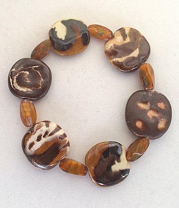shades of brown budget bracelet