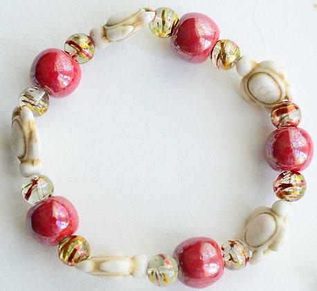 red turtle bracelet