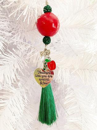 special teacher charm ornament