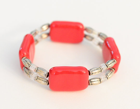 red double bracelet
