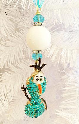 olaf waving ornament
