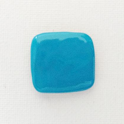 turquoise blue - glossy finish