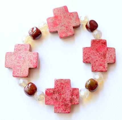 red cross bracelet