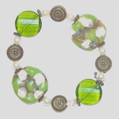 green camo bracelet