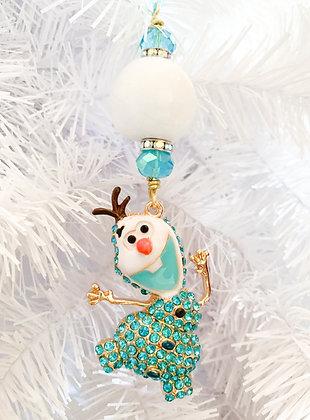 olaf dancing ornament