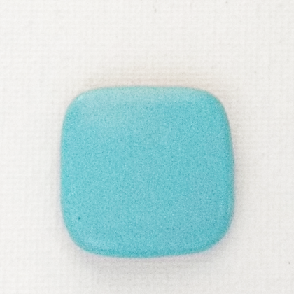 turquoise blue - matte finish