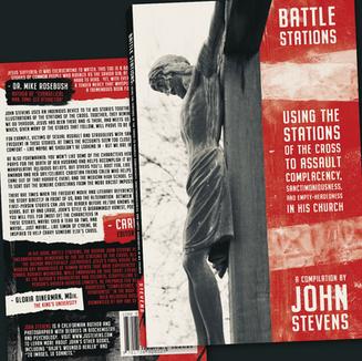 """JOHN STEVENS — """"BATTLE STATIONS"""" COVER"""