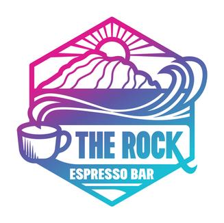 THE ROCK ESPRESSO BAR — LOGO