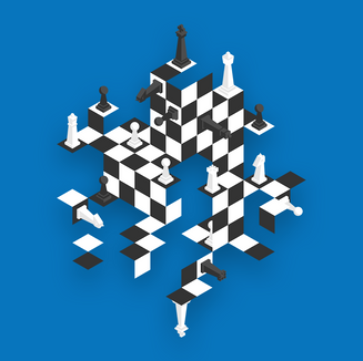 THE CHESS GIANT — 3D CHESSBOARD