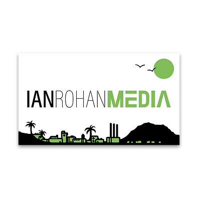 IRMWS Ian Rohan Media business card fron