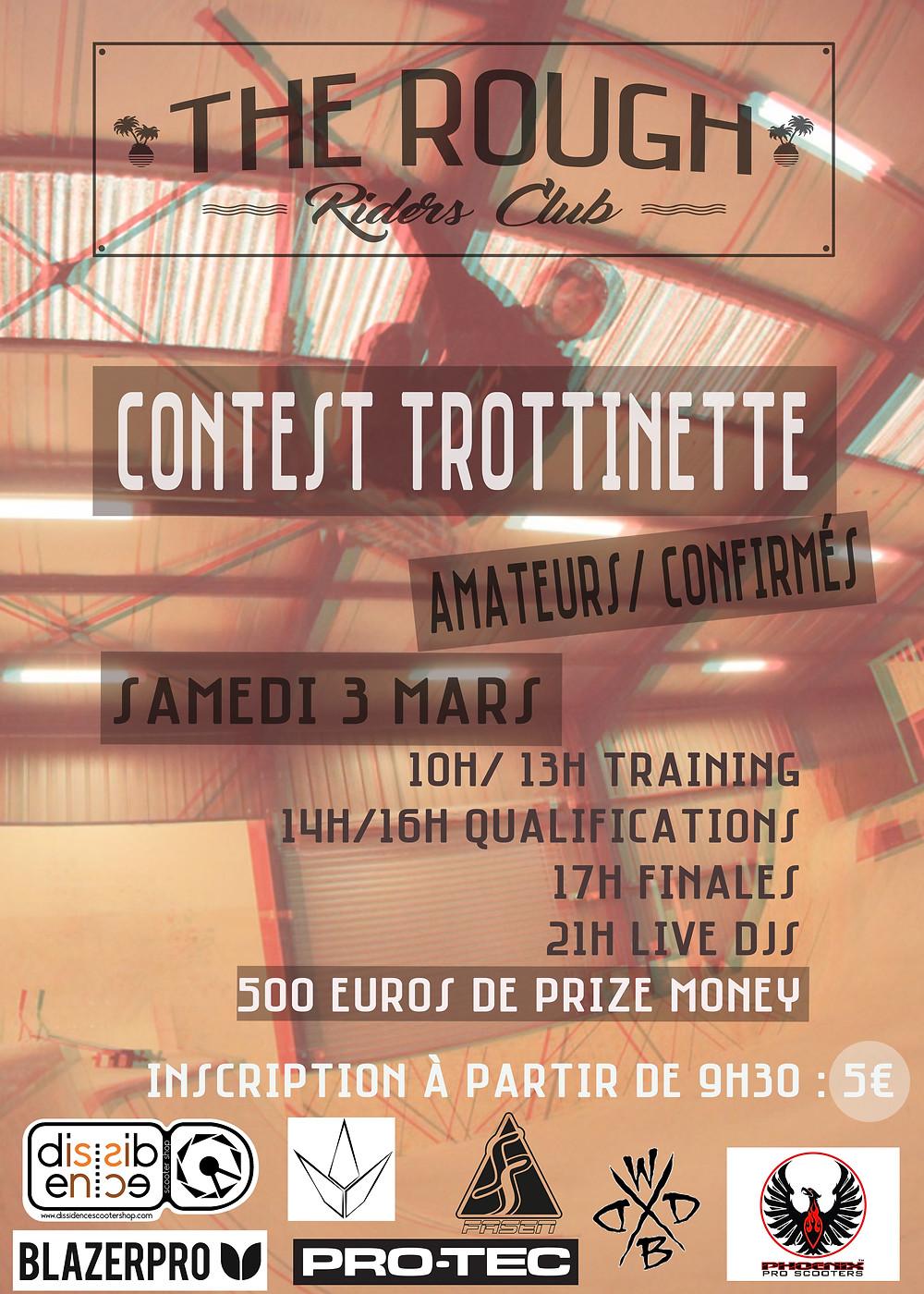 Contest trottinette ROugh Club