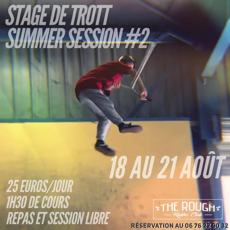 Stage de Trott !