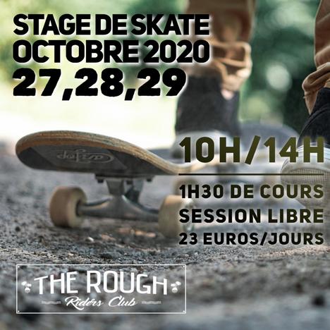Stage de skate du mois d'octobre
