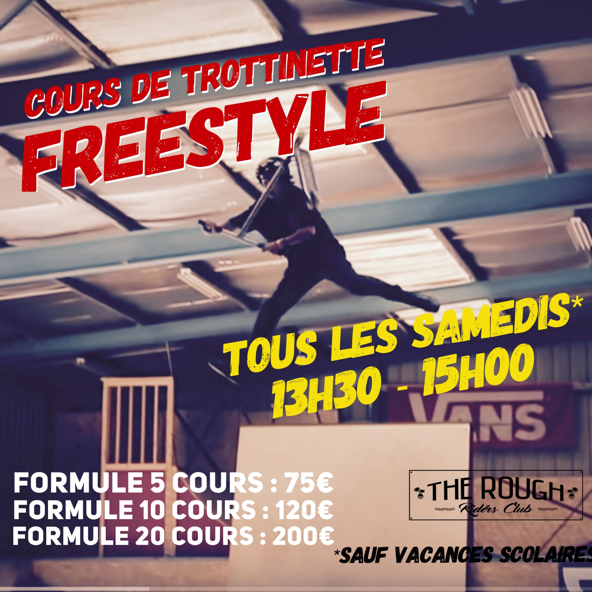 Cours de Trottinette Freestyle