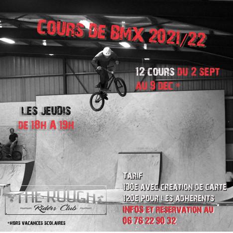 NOUVEAU !! Cours de BMX saison 2021/22