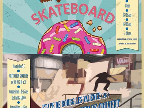 Le RoughClub accueille le championnat Auvergne Rhône Alpes de Skate!
