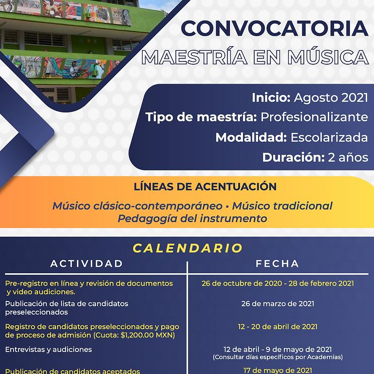 Convocatoria 2021-2022