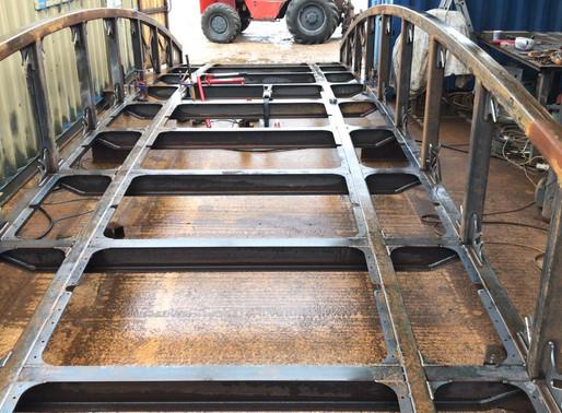 Access bridge build progress
